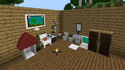 Mod Furniture for Minecraft